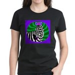 zebra Women's Dark T-Shirt