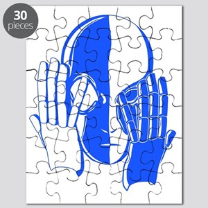 double_face_blue Puzzle