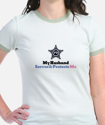 My Husband Serves & Protects Me T