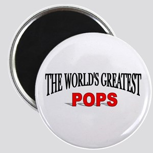 """The World's Greatest Pops"" Magnet"