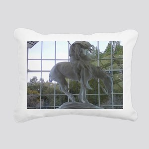 End of the Trail Rectangular Canvas Pillow