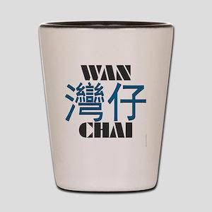 Wan Chai teeshirts - Hong Kong teeshirt Shot Glass