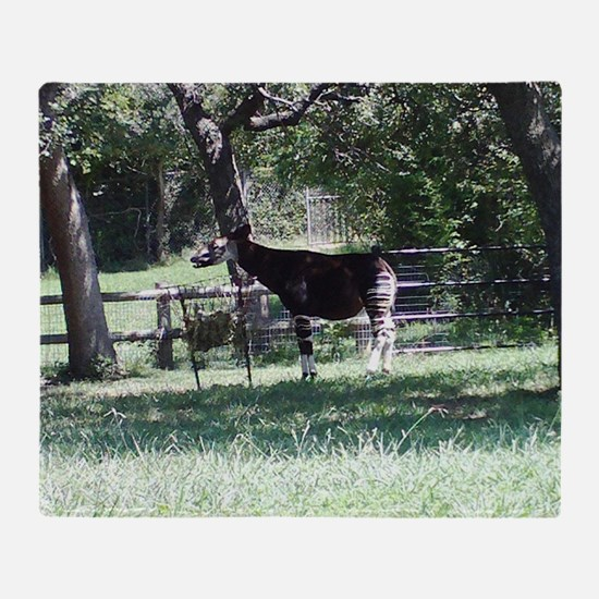 Okapi Throw Blanket