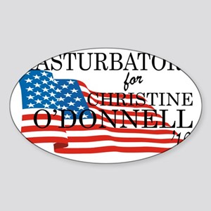 odonnell_shirt Sticker (Oval)