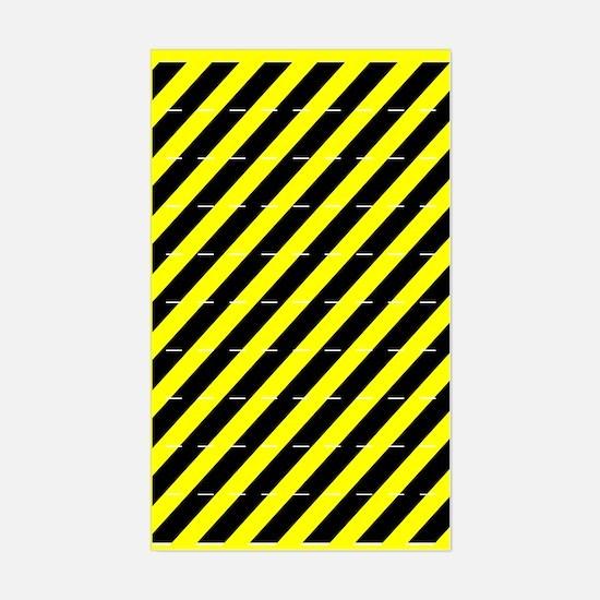 """Caution"" Gear Marker Stickers"