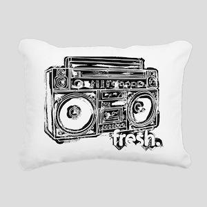 boombox fresh Rectangular Canvas Pillow