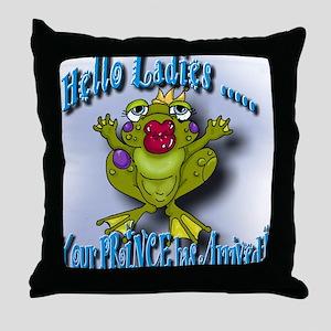 Your Prince Throw Pillow