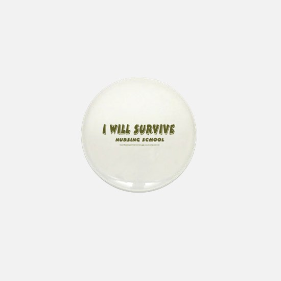 I Will Survive Mini Button