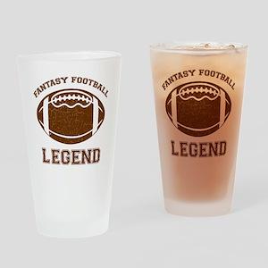 fantasyfootball Drinking Glass