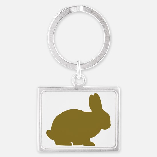 bunny_real Landscape Keychain