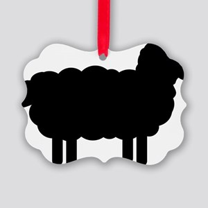 sheep_pic Picture Ornament