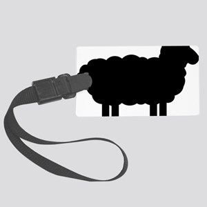 sheep_pic Large Luggage Tag