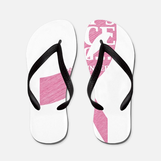 2-cancer thing2 Flip Flops