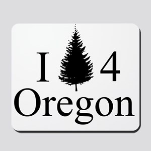 IPine4Oregon Mousepad