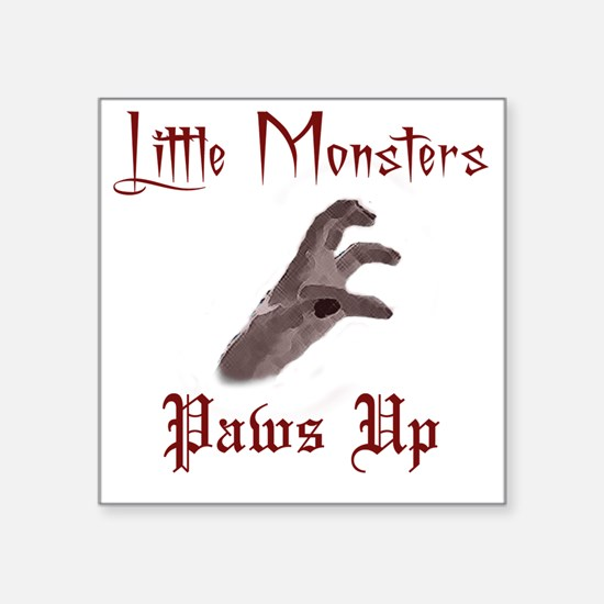 """Lady Gaga/Little Monsters s Square Sticker 3"""" x 3"""""""