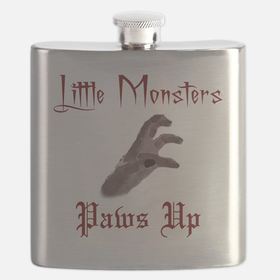 Lady Gaga/Little Monsters shirt front4 Flask