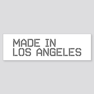 MADE IN LA Bumper Sticker