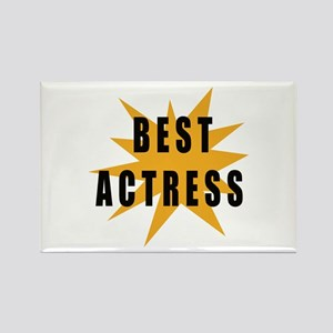 Best Actress Rectangle Magnet
