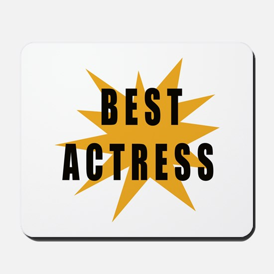 Best Actress Mousepad
