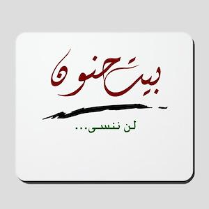 Lan Nansa Bayt Hanoun Mousepad