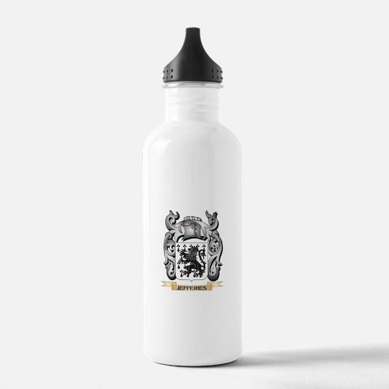 Jefferies Coat of Arms Water Bottle