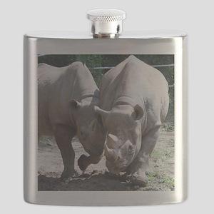 2 rhino Flask