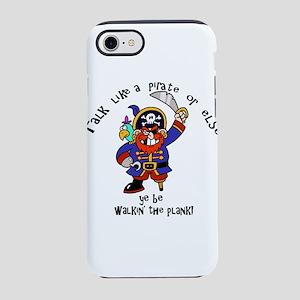 Peg Leg Pirate Captain with Sw iPhone 7 Tough Case