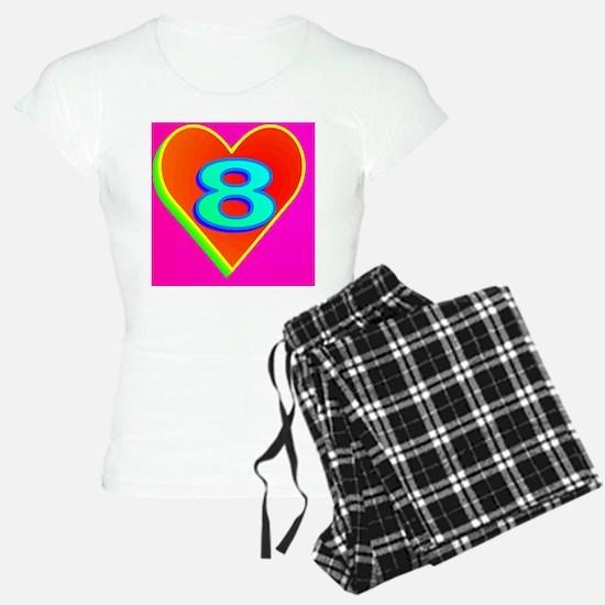 2-LUV8(black cap) Pajamas