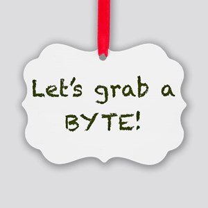 BYTE GRAPHIC Picture Ornament