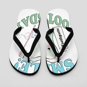 SmileItsToothsday Flip Flops