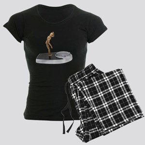 ViewingBathroomScale072310 Women's Dark Pajamas