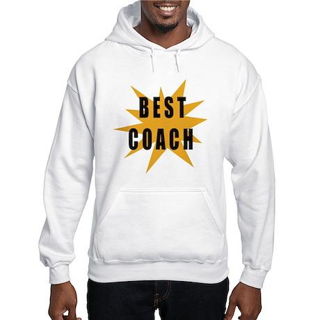 Best Coach Hooded Sweatshirt