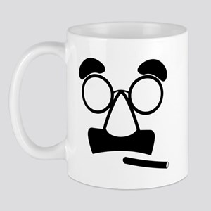Marx Moustache Mugs