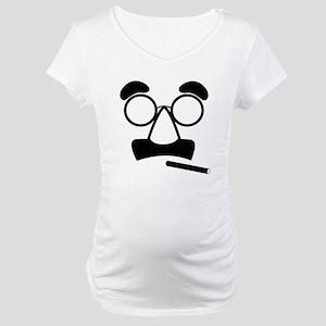 Marx Moustache Maternity T-Shirt