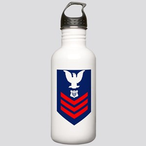 USCG-Rank-ME1 Stainless Water Bottle 1.0L