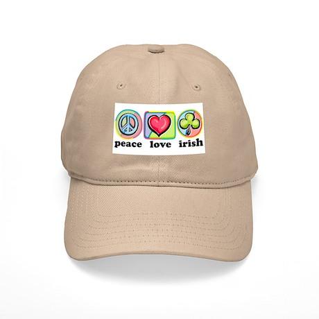 Peace Love Irish Cap