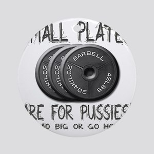 Small plates  Round Ornament