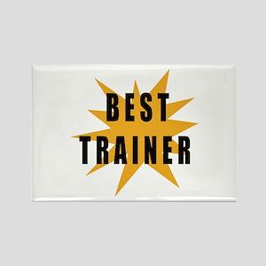 Best Trainer Rectangle Magnet
