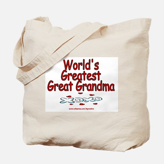 Great Grandma Tote Bag