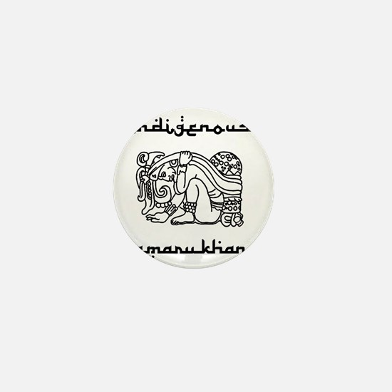 indigenous-amarukhan_vectorized Mini Button