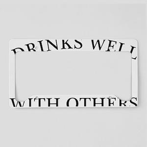 DrinksWell2 License Plate Holder