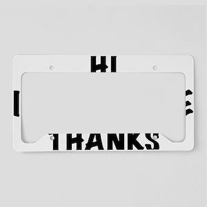 DontCare2 License Plate Holder
