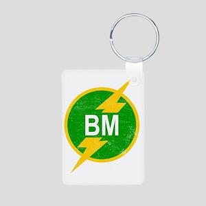 BM Aluminum Photo Keychain