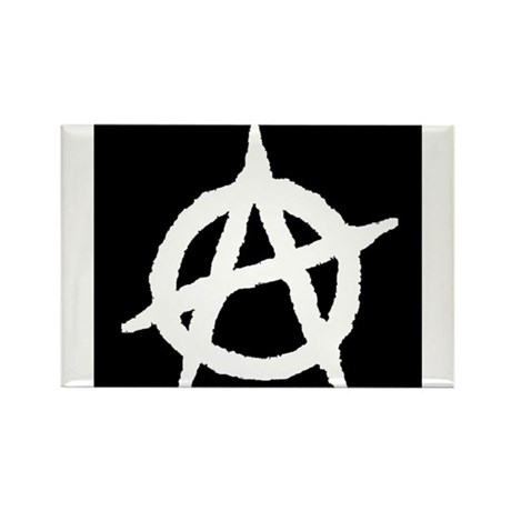 Anarchist Rectangle Magnet (100 pack)