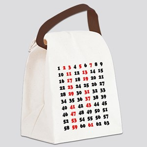 2-Prime Numbers 01 copy Canvas Lunch Bag