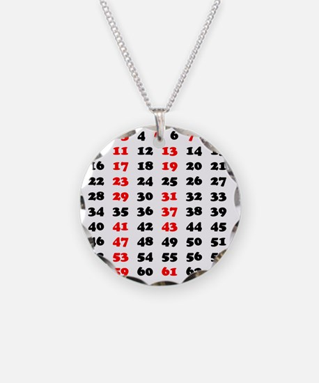 2-Prime Numbers 01 copy Necklace