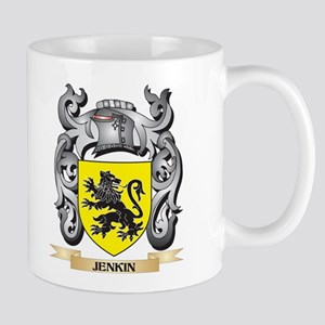 Jenkin Coat of Arms - Family Crest Mugs