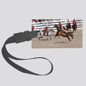 bareback1 Large Luggage Tag