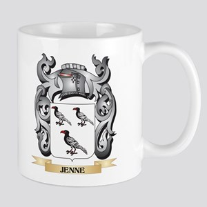Jenne Coat of Arms - Family Crest Mugs