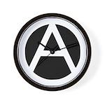 Anarchist Wall Clock